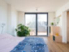 Kevin Veenhuizen Architects / dakopbouw Amsterdam / slaapkamer