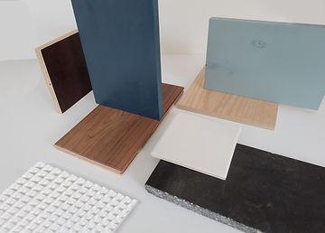 Kevin Veenhuizen Architects / Ensuite verbouwing Amsterdam / materialenpalette