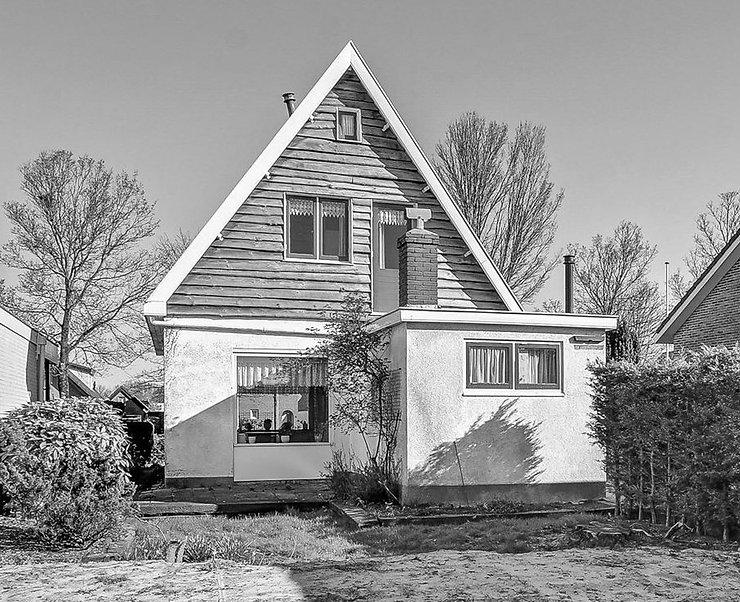 Kevin Veenhuizen Architects / Verduurzaming en Aanbouw Limmen / Bestaande situatie