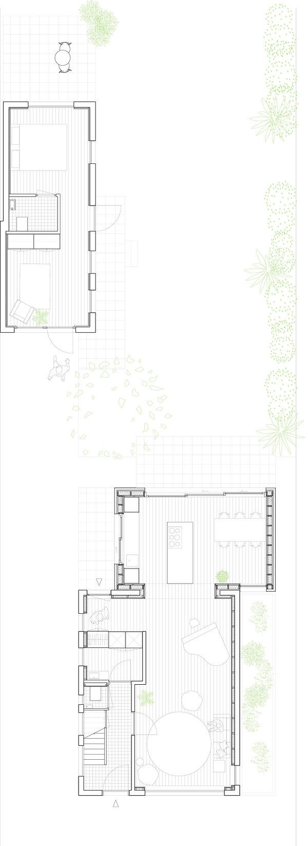 Kevin Veenhuizen Architects / Verduurzaming en Aanbouw Limmen / Plattegrond