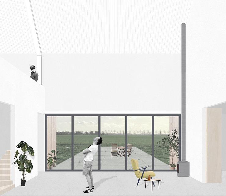 Kevin Veenhuizen Architects / Schuurwoning Spierdijk / vide