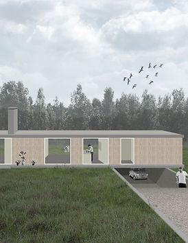 Kevin Veenhuizen Architects / Villa Lelystad zelfbouw