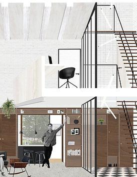 Kevin Veenhuizen Architects / transformatie loft appartement Carre van Bloemendaal
