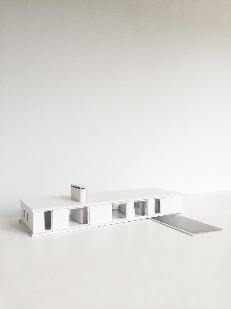 Kevin Veenhuizen Architects / villa Lelystad / maquette