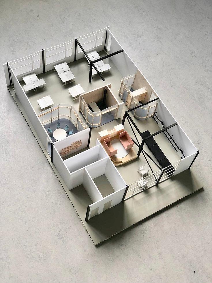Kevin Veenhuizen Architects / M3 Consultancy / maquette