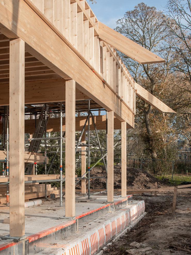 Kevin Veenhuizen Architects / bosvilla Sancta Maria Noordwijk / kavel zelfbouw