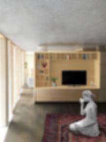 Kevin Veenhuizen Architects / Loft Top-Up Amsterdam / inbouwkast op maat