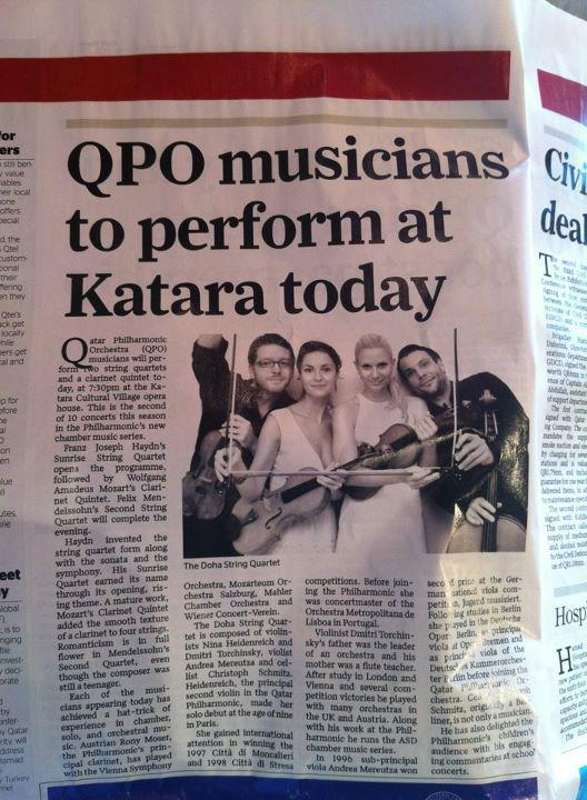 DSQ in Newpapers