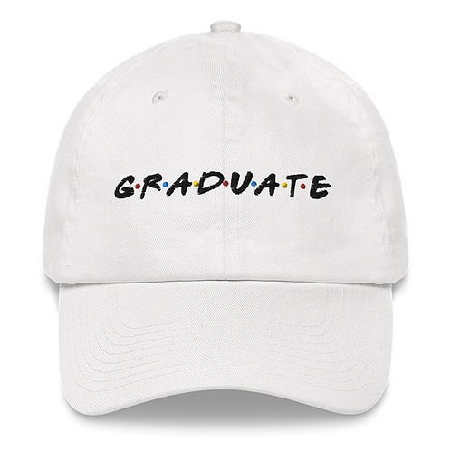 GRADUATE [Friends] - Hat (light)