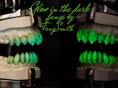 Glow In The Dark Fangs
