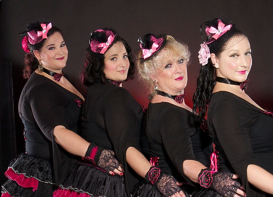 Ruffles of Doom dance troupe.