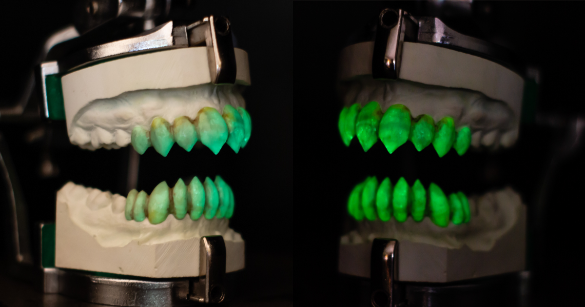 Glow in the dark sfx grills