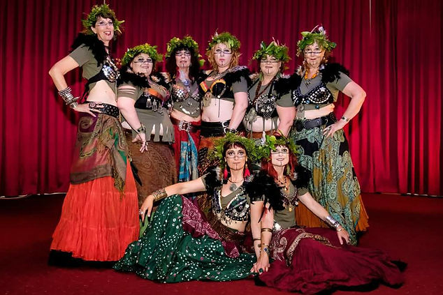 Free Spirit Gypsies dance troupe.
