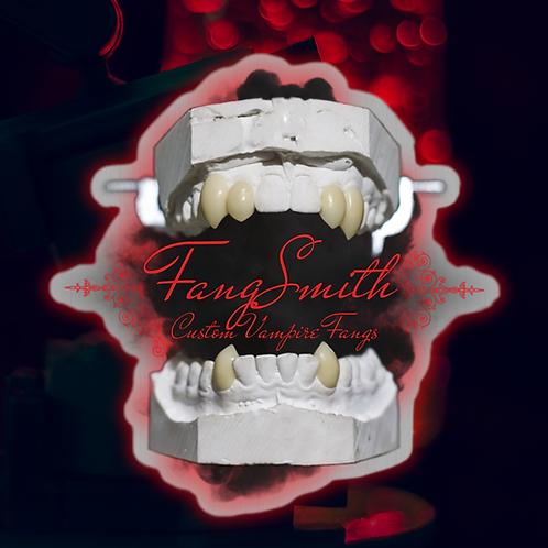 FangSmith Logo 2021- Brushed Aluminium
