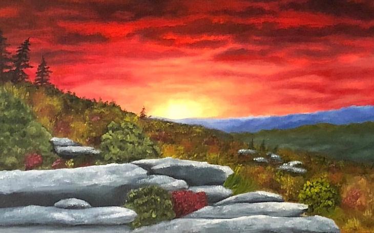 Rough Ridge at Sunset.jpg