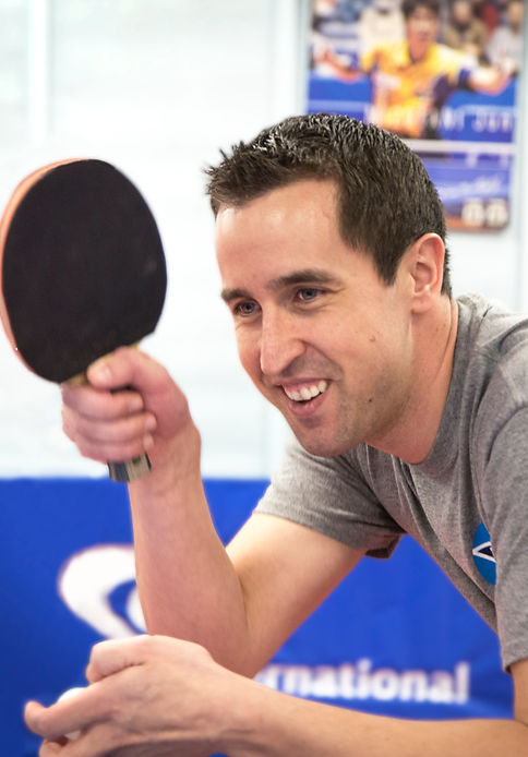 Joe Podvin Table Tennis Coach