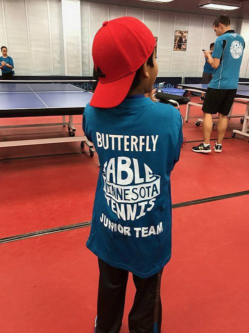 Butterfly - Minnesota Table Tennis T Shirt