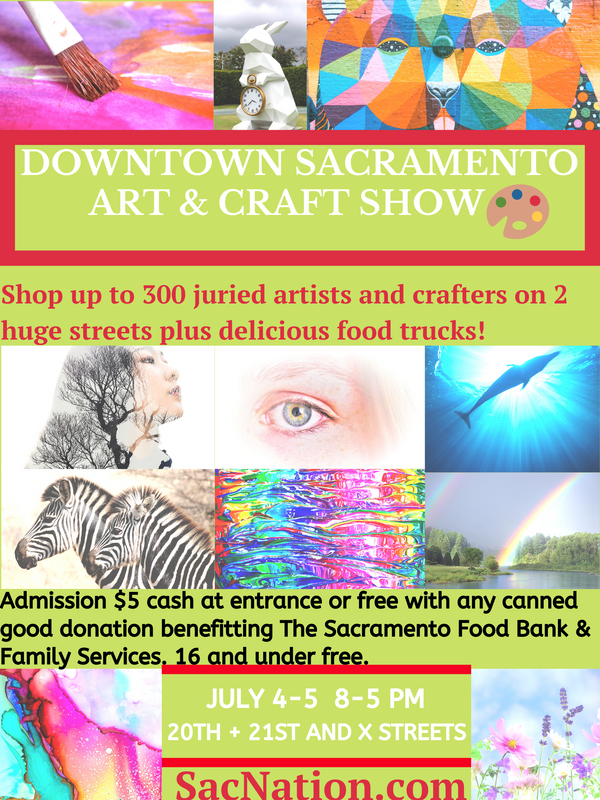 Downtown Sacramento Art & Craft Show & S