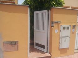 puerta pvc entrada
