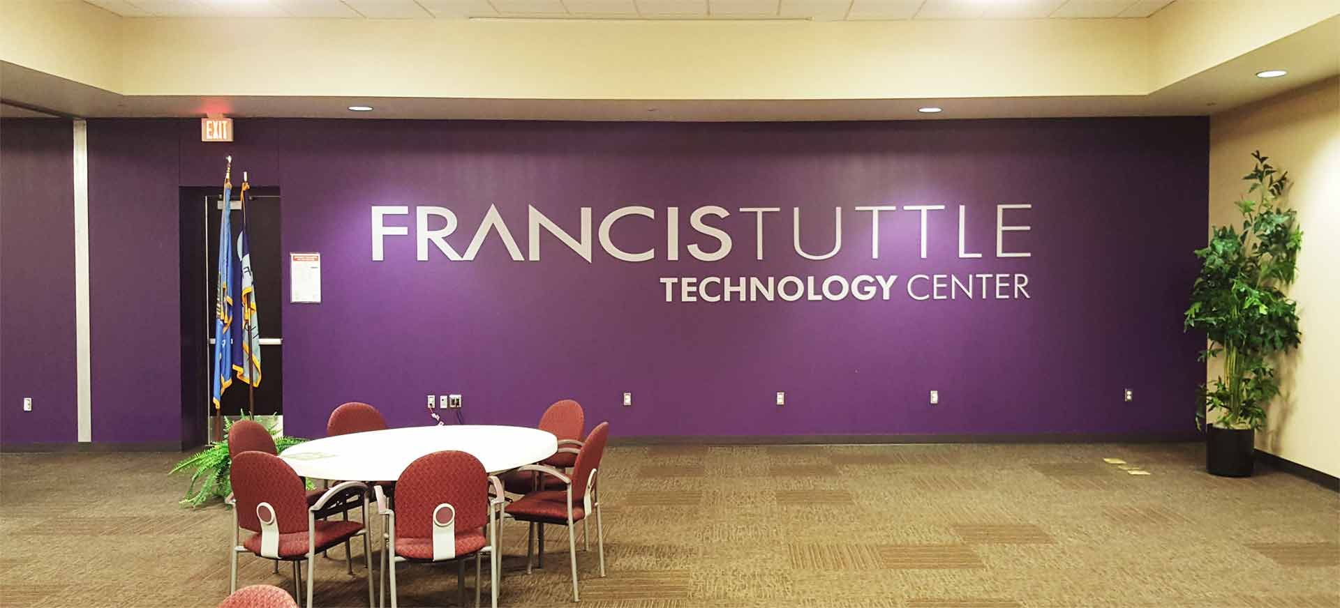 Francis Tuttle Wall Wrap
