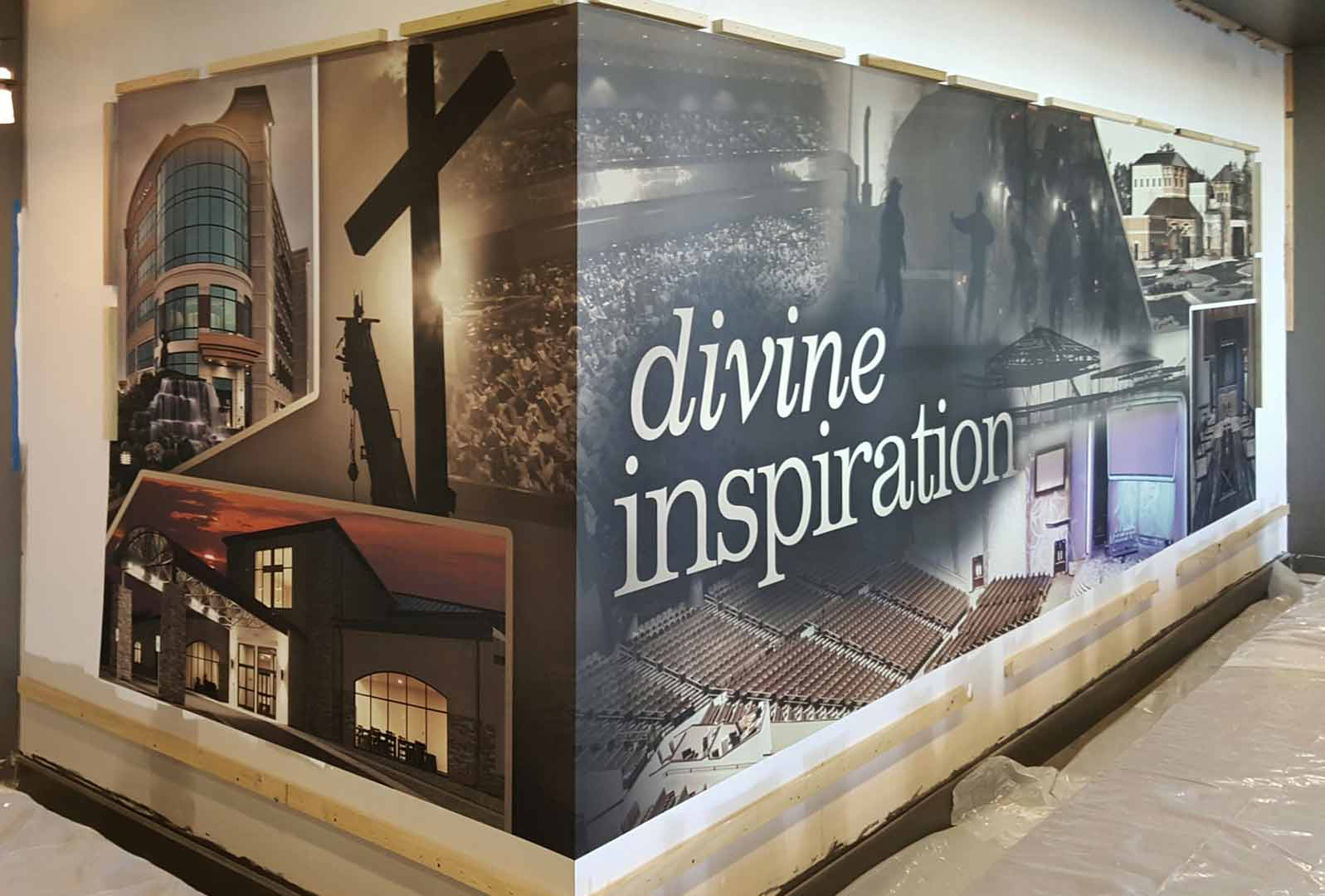 Divine Inspiration Wall Wrap