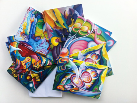 Amazing Abstract Art Cards to Gift and Share