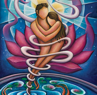 Flowing and Growing in the Arms of Love