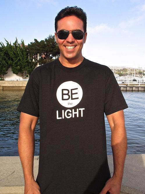 Be The Light - Male Standard Tee Shirt