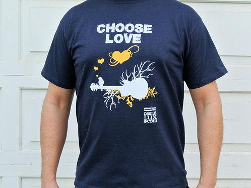 Choose Love - Navy Tee Shirt