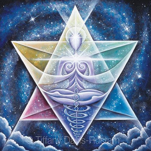 Galactic Starseed Goddess PRINTS