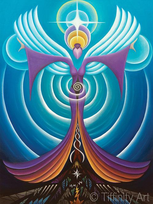 Healing Angel of Empowerment PRINT