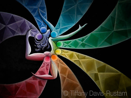 Rainbow Chakra Dancer