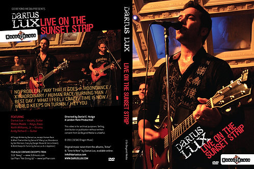 Live DVD at House of Blues, LA Sunset Strip