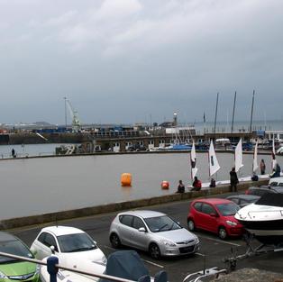St. Peter Port sailing lake