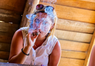 Tobacco plantation in Vinales, Cuba