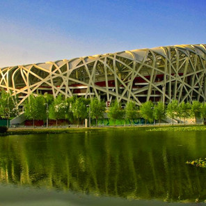 Olympic Stadium in Beijing, China