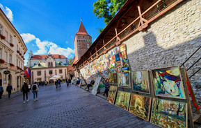 Medieval City Walls. The city dates back to the 7th century.Kraków was the official capital of Poland until 1596.
