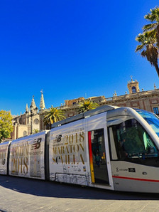 Seville is the capital of Andalusia and it's largest city.