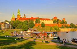 Royal Castle and Vistula river
