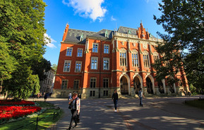 The Collegium Novum is the Neo-Gothic main building of the Jagiellonian University in Kraków, originally built between the year 1363 and 1365.