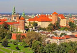 Wawel castle hill