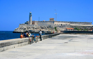 Castillo De Los Tres Reyes Del Morro, Havana.Iconic symbol of Havana's seagoing past, this fort dates back to the late 16th century.