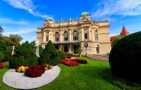 Slowacki Theathre in Krakow