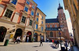 St. Mary's Church and Florianska Street