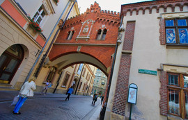 The Princes Czartoryski Museum in medieval palace adjustant to the city walls. Kraków was named the official European Capital of Culture for the year 2000 by the European Union. It is a major attraction for both local and international tourists, attracting nearly 13 million visitors a year.