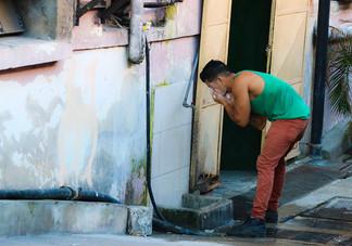 Vida en la calle Cubana