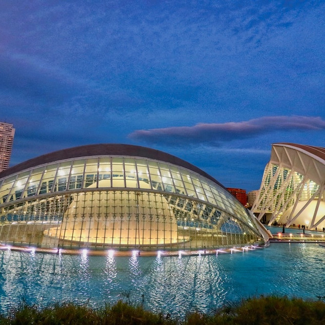 World Design Capital 2022 - Valencia, Architecture of Santiago Calatrava