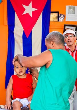 Barber shop in  Havana Vieja