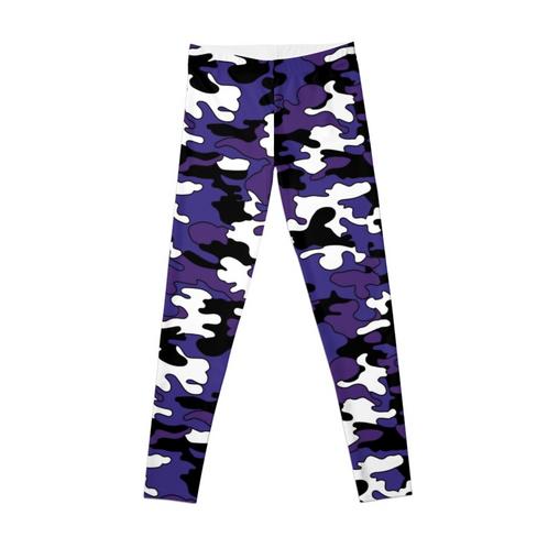 1db593bf3c Purple Detailed Camo Leggings