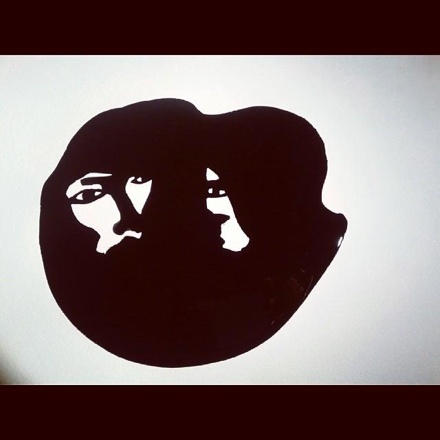 #noir #blanc #illustration #ink
